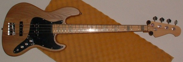 SX Jazz Bass Project - AFTER Pic